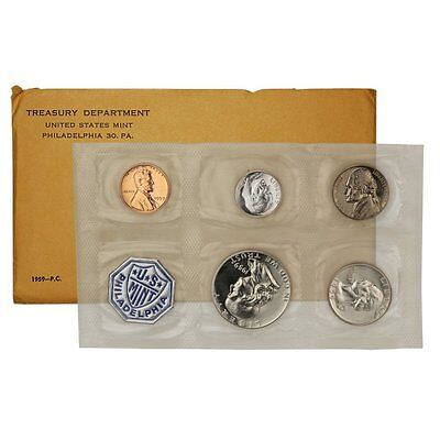 1959-P Proof Set United States US Mint Original Government Packaging Box