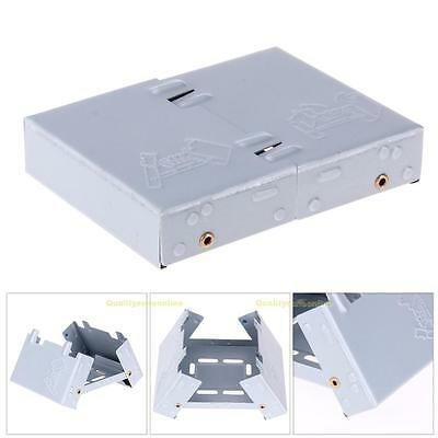 Solid Fuel Alcohol Stove Burner Folding Portable Camping BBQ Mini Picnic Stove
