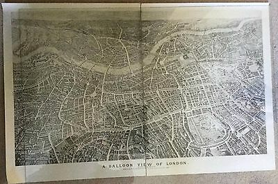 A Balloon View of London: Daguerreotype Process V&A Poster, street map, 1851