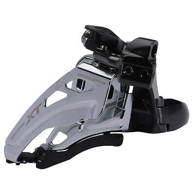 Shimano Deore XT M8020-L Double Front Derailleur - Low Clamp - Side Swing