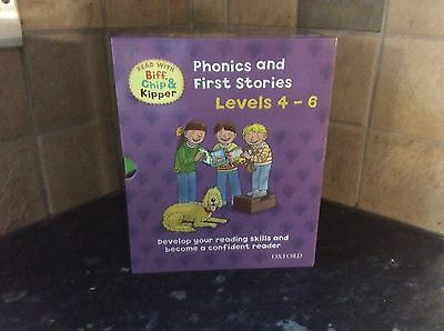 25 X Oxford Reading Tree Books - Phonics And First Stories Levels 4-6 Rrp £124