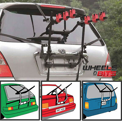 Car Boot 3 Bike Cycle Carrier Rack To Fit Suzuki Celerio