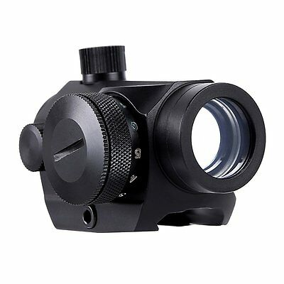 LIVABIT Tactical Holographic Mini Micro Reflex Red Green Dot Scope Sight