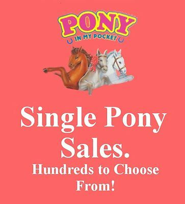 Vintage 1994 M.E.G. Toys ~ Pony in my Pocket 01-24 ~ LOADS TO CHOOSE FROM HERE!