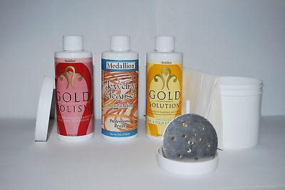 Medallion Liquid Gold Plating System, Gold Plating Immersion System -  NEW