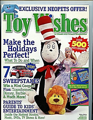 Toy Wishes Magazine Issue Holiday 2003  nm-m new unread Entertainment Guide H27