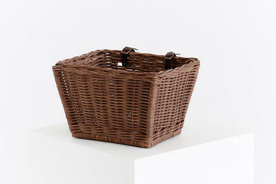 Dhvani Cisean Classic Cane Bicycle Basket - Vintage wash