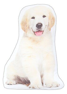 "Golden Retriever Puppy Throw Pillow Dog New 15"" High Polyester Dogs Puppies"