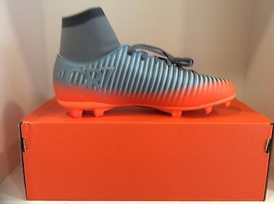New Nike Jr Mercurial VCTY VI CR7 DF FG Firm Ground Soccer Cleats Youth Sizes.