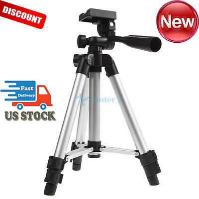 Pro Universal Flexible Portable DV DSLR Camera Tripod for Sony Nikon + Nylon Bag