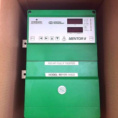Control Techniques Mentor Ii Dc Drive 100 Hp M210R-14Icd Tested 100% Warranty
