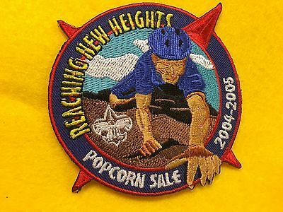 Boy Scouts - 2004-2005 Reaching New Heights Popcorn Sale patch