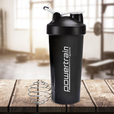 700ml Protein Drink Water Bottle Shaker BPA Blender Workout Gym Running Sport