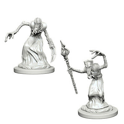 D&D Unpainted Nolzur's Marvelous Miniatures Mind Flayers