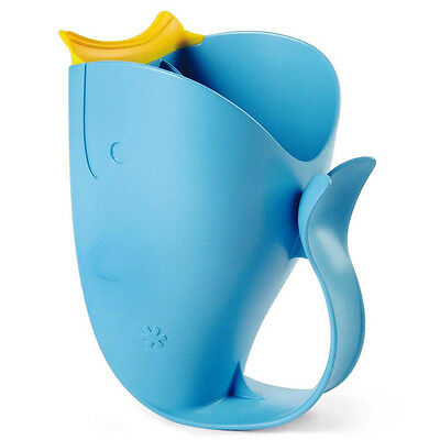 Skip Hop Moby Bath Tear-Free Waterfall Rinser Blue Baby Safety infant