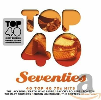 Various Artists - TOP 40 - SEVENTIES - Various Artists CD NCVG The Cheap Fast