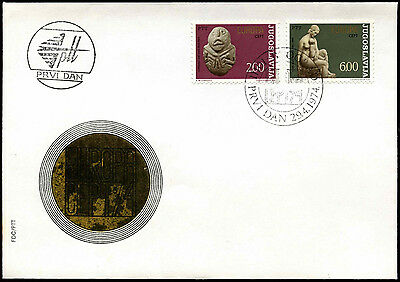Yugoslavia 1974 Europa, Sculptures FDC First Day Cover #C40259