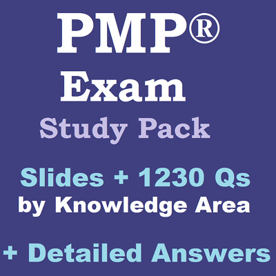 Latest PMP Exam Study Plan & Tips + Slides + 1300 Q&As PMBOK 6th Sixth Edition