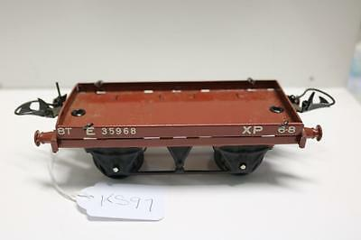 Hornby O Gauge No 50 Low Sided Wagon In A  Box   Good   [  Ks97]