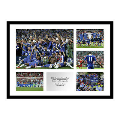 Chelsea FC 2012 Champions League Final Photo Memorabilia (MU5)