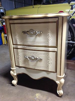 French Provincial Nightstand/Bedside Table/End Table