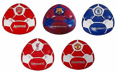OFFICIAL FOOTBALL CLUB - INFLATABLE CHAIR - All Teams (Kids Room/Gift/Birthday)