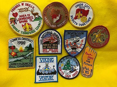Boy Scout patches -   Lot  65   -  Spring Clearance Time  !     Stock up now  !!