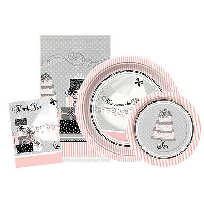ELEGANT WEDDING Party Range (Plates/Invitations)