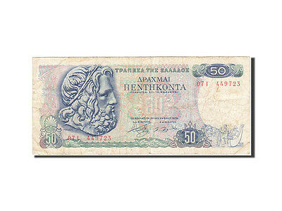 [#265980] Greece, 50 Drachmai, 1978, KM:199a, 1978-12-08, VF(30-35)