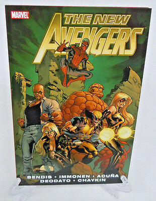 New Avengers Vol 2 by Bendis Marvel Comics TPB Trade Paperback Brand New