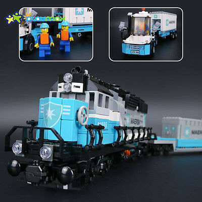 21006 Maersk Train building block toys all new