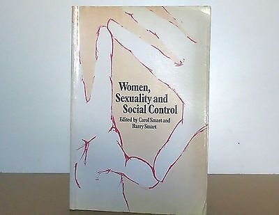 """Vintage Routledge book """"Women, Sexuality and Social Control"""" ed. by C & B Smart"""