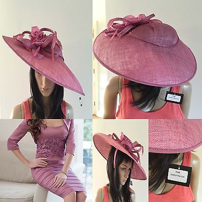 ISPIRATO CONDICI CAMEO PINK hatinator hat wedding ascot  mother of the bride