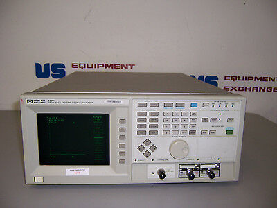 9258 Hp 5371A Frequency & Time Interval Analyzer W/ 54002A & 54003A