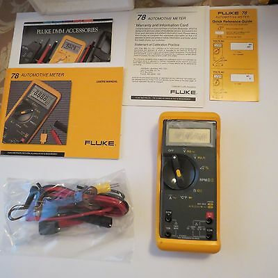 Fluke 78 Automotive meter  NIB