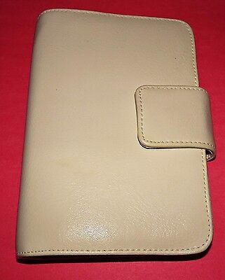 ROSETTI ORGANIZER Ivory Faux Leather Accessories Book Credit Card Holder
