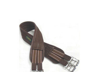 Waffle Atherstone Humane Jumping Eventing Girth Black/Brown FREE DELIVERY