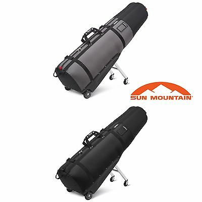Sun Mountain 2017 ClubGlider Golf 2 Way Zip Golf Bag Travel Cover Club Glider