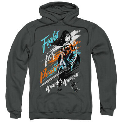 Wonder Woman Movie Fight For Peace DC Comics Hoodie