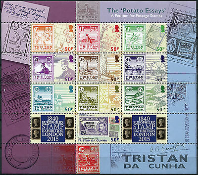 """Tristan DaCunha. 2015. The """"Potato Essay"""". A Petition for Postage Stamps. MNHOG"""