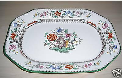 Platte - Copeland Spode Chinese Rose England  - älter