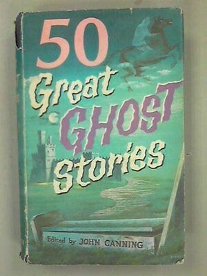 Fifty Great Horror Stories Hardback Book The Cheap Fast Free Post