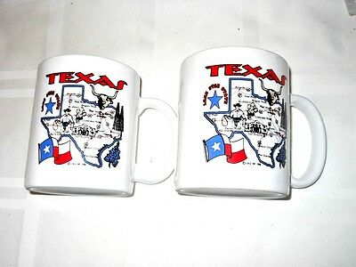"""Rolls Royce Silver Ghost Commenorative Mugs - 2 - """"Wholly Ghost Tour"""" Texas 1999"""