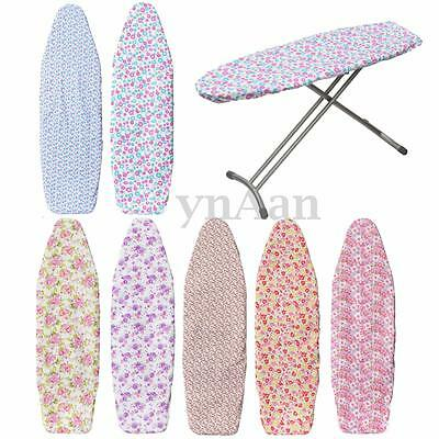 Easy Fast Elasticated Ironing Board Covers Fit Non Slip Washable Cotton Iron
