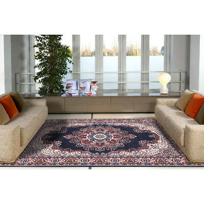 SIRI RUG PERSIAN 6400 BLUE Traditional Large Floor Mat Carpet FREE DELIVERY*