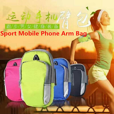 "For Phones 6"" Sports Running Jogging Gym Armband Arm Bag Phone Holder Durable"