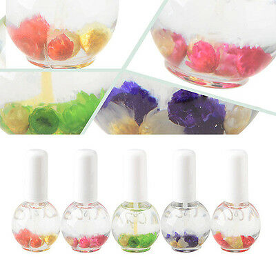 15Ml Cuticle Nutrition Replenishing Rose Lavender Dried Flower Nail Oil Comfy