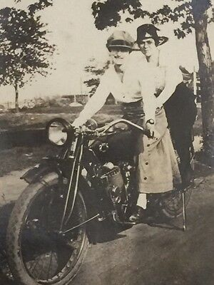 Fantastic 1900 to 1920s Photo Album, WWI, Motorcycles, Oil Wells, Farms...& More