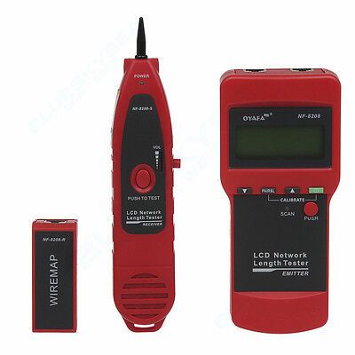Sydney NOYAFA NF-8208 Ethernet Network Cable Tester for Cat5E RJ45 Wire Tracker