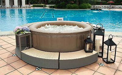 2017 Mspa Reve JB- 301 Inflatable Hydrotherapy Jet Hot Tub Spa Free Delivery